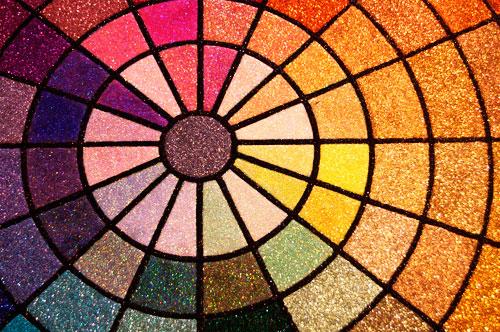 art-glitter-bullseye