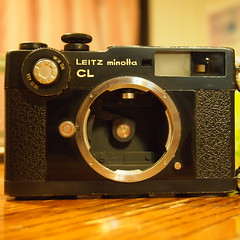 My Leiz CL Restored !  (with a frozen new shutter after a few days--great work, tech)