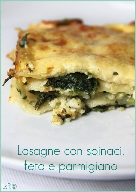 lasagne feta e parmigiano
