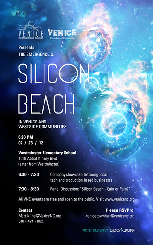 "VNC: ""Silicon Beach"" Town Hall on February 23rd"
