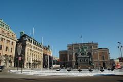 The Royal Swedish Opera on Gustav Adolf Square