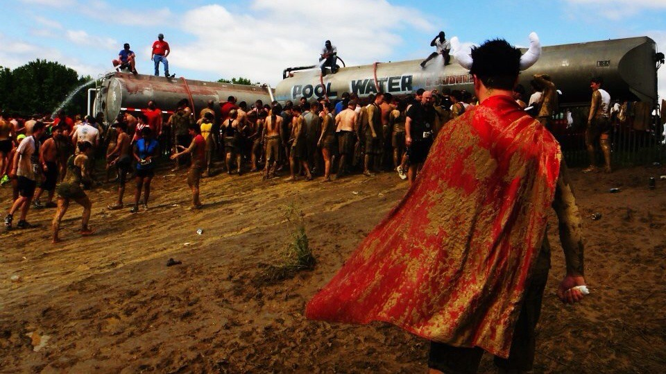 Warrior Dash - THOR!