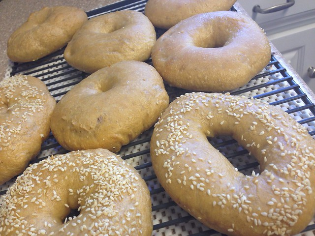 Friday morning bagels