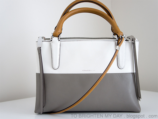 Coach Mini Borough Bag in Retro Colorblock