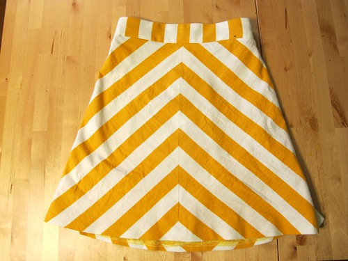 Ginger Skirt - chevrons