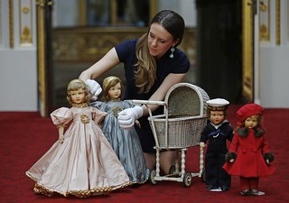 Queen Elizabeth's childhood toys