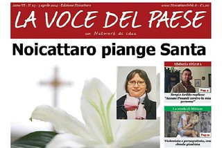 Noicattaro. Prima pag. n13-2014 front