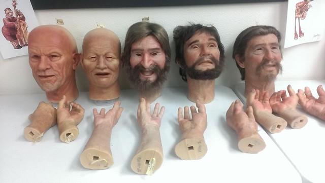 Garner Holt Animatronic Masks and Hands