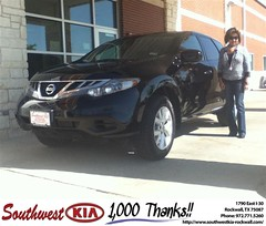 Congratulations to Rose Mary Frausto  on your #Nissan #Murano purchase from Juan  Cashat at Southwest KIA Rockwall! #NewCar