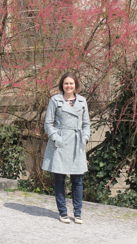 Evergreen Robson coat
