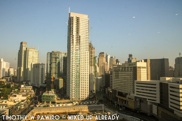 Asia - Philippines - Manila (Makati) city view from Dusit Thani Manila Hotel