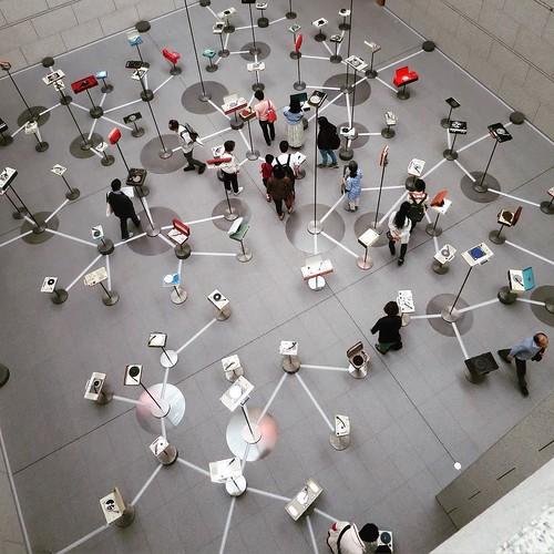 見た目の迫力も。 #MOT #現代美術館