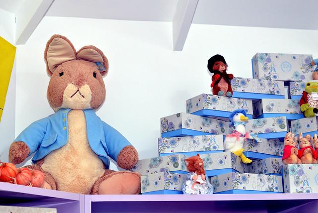 Peter Rabbit Garden Gift Emporium display