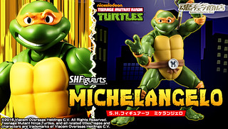 S.H.Figuarts 忍者龜【米開朗基羅。Michelangelo】Teenage Mutant Ninja Turtles