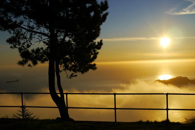 headlands sunset