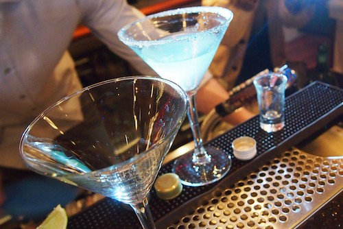 Salt Spring Inn - Glowtini Competition