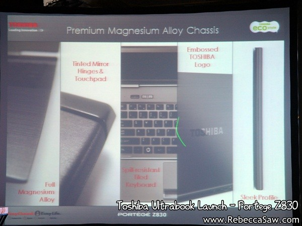 Toshiba Ultrabook - Portege Z830-4