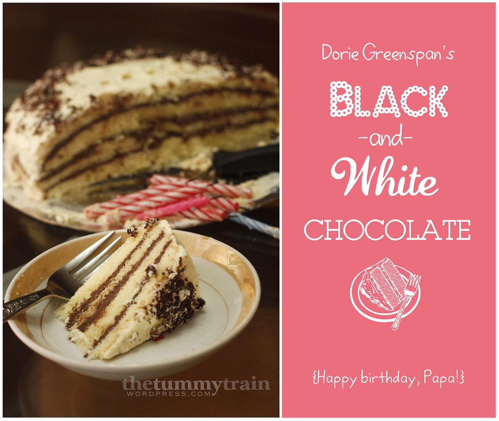 Dearly Dreaming Dorie A Black And White Birthday Cake For Papa