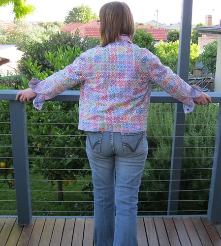 Go Granny jacket - Butterick 6376