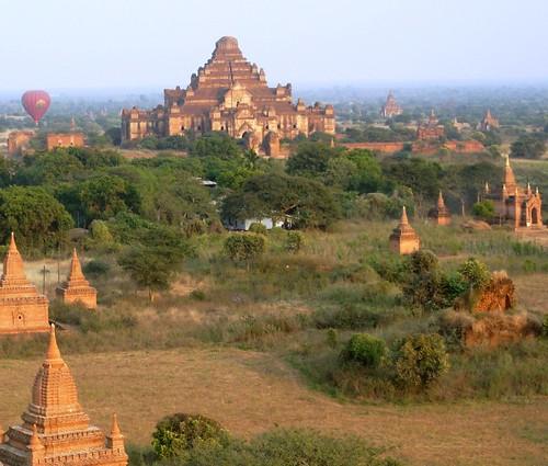 Bagan- Coucher de soleil (6)