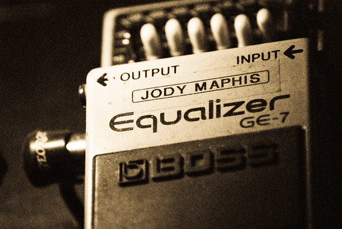 Jody Maphis pedal