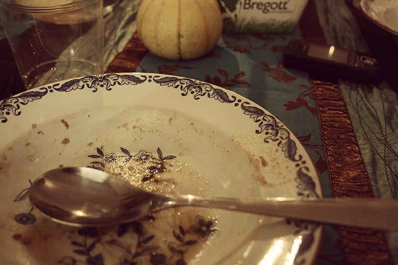 brudkväll hos louise med linssoppa
