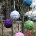 Yarn Ball Xmas Ornaments