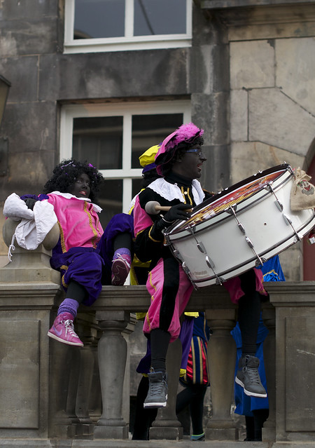 zwarte piet plus drum