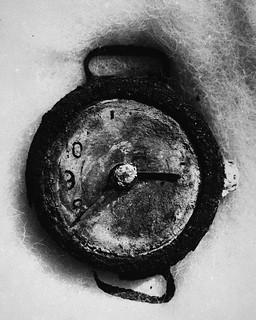 Momento preciso de la explosión atómica (Hiroshima, 1945)