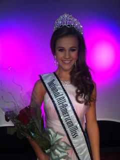 National All-American Miss Jr. Teen Maggie Marx of Kansas