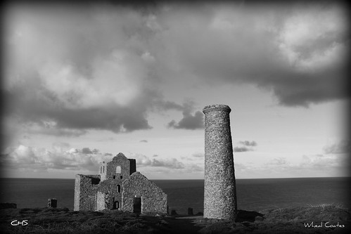 Wheal Coates Tin Mine, near St.Agnes, North Cornwall Coast by Stocker Images