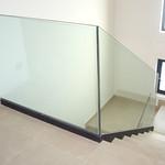Barandilla de vidrio para escalera