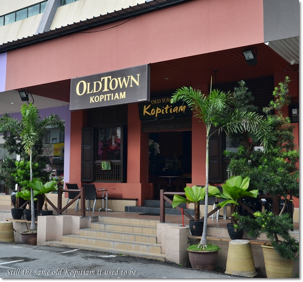 Old Town Kopitiam Like It Was