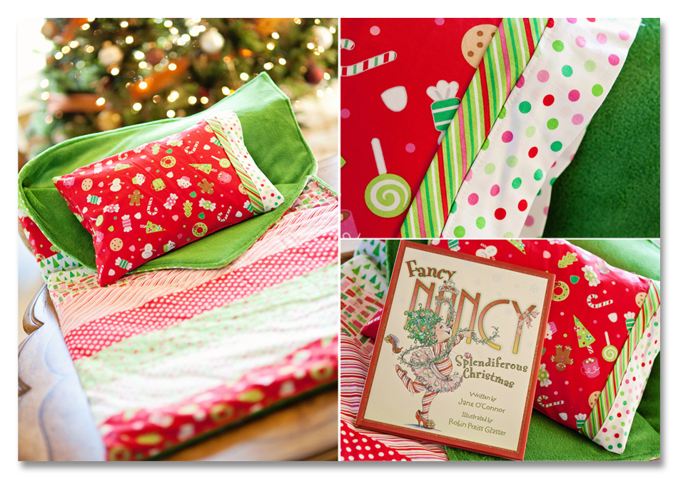 Christmas Sleep Set Collage