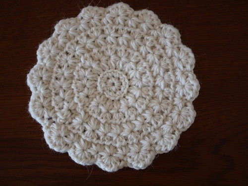 star-crochet coaster