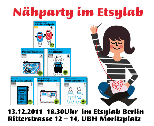 Nähparty im Etsylab Berlin