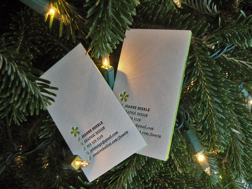 Joanne Hoerle Business Cards