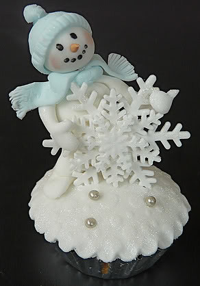6464624659 5594f65bd2 Winter Snowman Cupcakes for Christmas