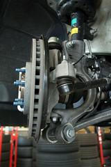 Vorderradaufhängung des Astra GTC
