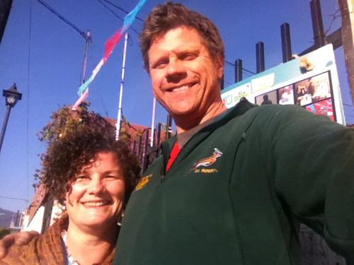 Que Quesoso! Cheesy Foto de Melissa y Ron 12.2011