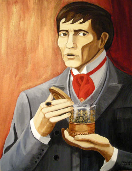 Barnabas Collins (Dark Shadows) portrait