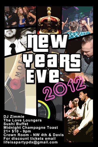 Portland New Years Eve 2011 @ Crown Room