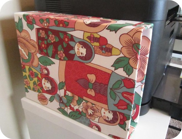 Fabric Box Finished