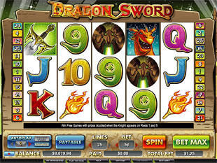 Dragon Sword slot game online review