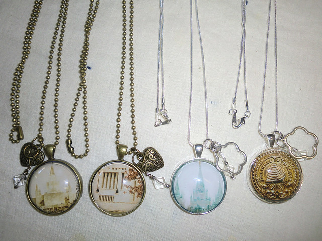 LDS Temple Necklaces