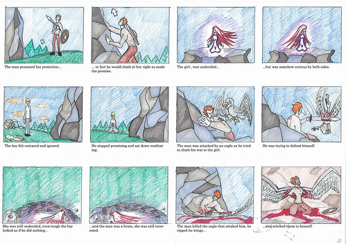 The Pure and The Tainted - Storyboard 2/3