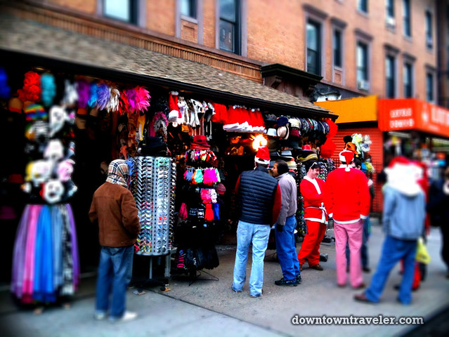 SantaCon NY 2011 East Village St Marks Pl shop