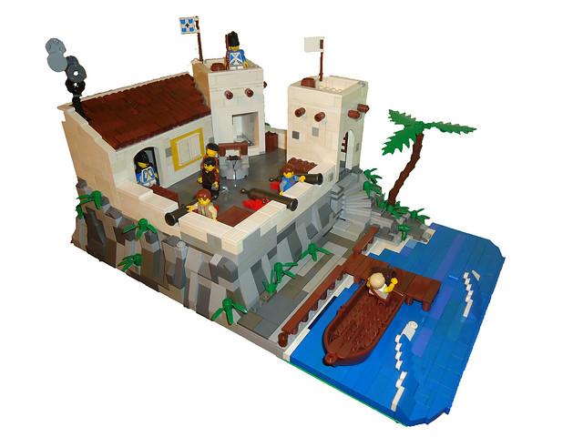 A Bluecoat fortress!