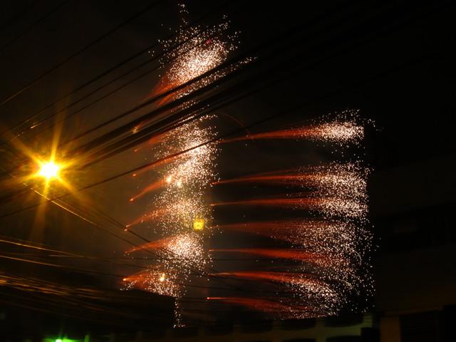 Firework Festival de la Luz 2011