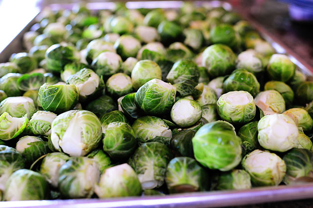 The Pioneer Woman Cooks Brussel Sprouts with Balsamic & Cranberries!